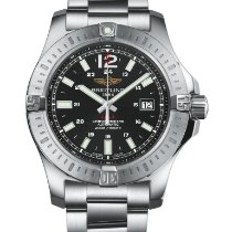 Breitling Avenger II GMT Steel 43mm Black No numerals United States of America, California, Glendale