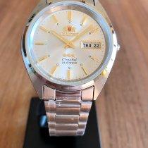 Orient Star Steel 37mm Silver No numerals