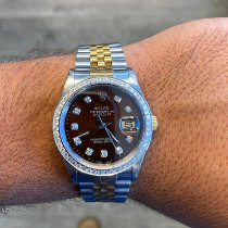 Rolex 16233 Gold/Steel 1989 Datejust 36mm pre-owned United States of America, California, Beverly Hills