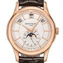 Patek Philippe Annual Calendar Rose gold 40mm White No numerals United States of America, New York, New York