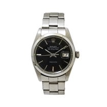 Rolex Air King Date Acero 34mm Negro Sin cifras