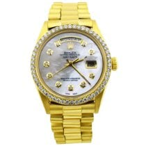 Rolex Day-Date 36 Yellow gold 36mm Mother of pearl No numerals United States of America, California, Fullerton