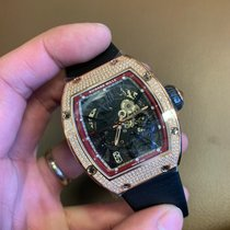 Richard Mille Rose gold 45mm Automatic RM 023 new