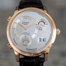 Glashütte Original Yellow gold Silver pre-owned PanoMaticVenue