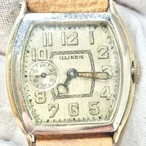 Illinois Gold/Steel 30mm Manual winding pre-owned United States of America, New Jersey, Upper Saddle River