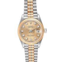Rolex Lady-Datejust Or blanc 26mm Bronze