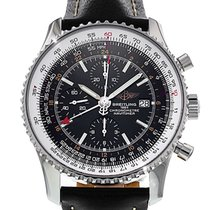 Breitling A24322 Steel 2015 Navitimer World 46mm pre-owned