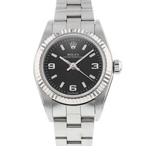 Rolex Oyster Perpetual Acero Negro