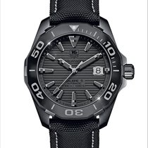TAG Heuer Aquaracer 300M Titanium 41mm Black No numerals