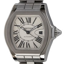 Cartier Roadster Steel 40mm Silver Roman numerals United States of America, Texas, Austin