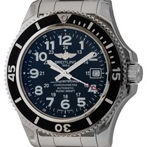Breitling Superocean II 42 Steel 42mm Black Arabic numerals United States of America, Texas, Austin