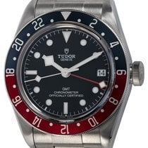 Tudor Black Bay GMT pre-owned 42mm Black Date GMT Steel