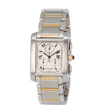 Cartier Tank Française Steel 29mm Silver Roman numerals United States of America, New York, Hartsdale