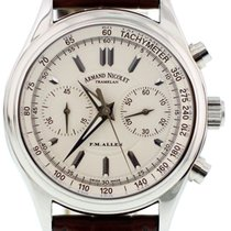 Armand Nicolet Steel 42mm Automatic pre-owned United States of America, New York, New York