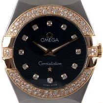 Omega Constellation Quartz Gold/Steel 27mm Blue
