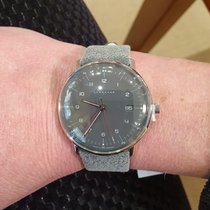 Junghans max bill Quarz Сталь Cерый Aрабские