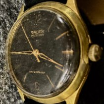 Gruen Gold/Steel 34mm Manual winding 510 Rss pre-owned