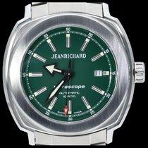 JeanRichard Acier 44mm Remontage automatique 60500-11-A01-11A occasion