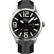 Ball Engineer Master II Aviator Steel 46mm Black No numerals