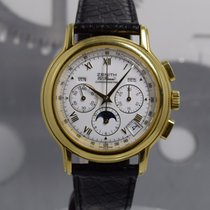 Zenith El Primero Chronomaster Or jaune 40mm Blanc Romains France, Cannes