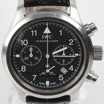 IWC Pilot Chronograph 36mm Negro Arábigos España, Barcelona