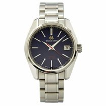 Seiko Grand Seiko Steel 40mm Blue United States of America, Texas, Plano