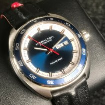 Hamilton Pan Europ Steel 42mm Blue United States of America, Florida, Pompano Beach