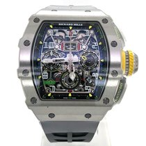 Richard Mille RM 011 Titanium 49.94mm Transparent