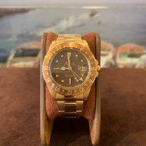 Rolex GMT-Master Or jaune 40mm Brun Sans chiffres France, Cannes