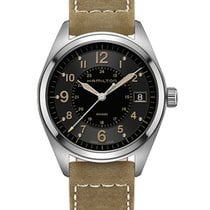 Hamilton Khaki Field Steel 40mm Black