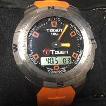 Tissot T-Touch Expert Titanio 38mm Negro Sin cifras