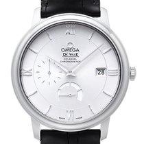 Omega 424.13.40.21.02.001 Steel 2020 De Ville Prestige 39.5mm new
