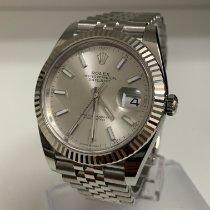 Rolex Datejust Stahl 41mm Silber Keine Ziffern Deutschland, Karlsruhe