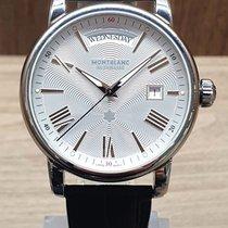 Montblanc 4810 Steel 40.5mm Silver Roman numerals
