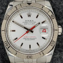 Rolex Datejust Turn-O-Graph Steel 36mm White