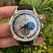 Zenith El Primero 36'000 VpH Steel 42mm Silver No numerals United States of America, California, Los Angeles