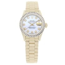Rolex Lady-Datejust Yellow gold 26mm Mother of pearl No numerals