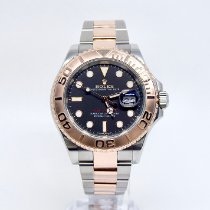 Rolex Yacht-Master 40 Gold/Steel 40mm Black No numerals United Kingdom, Kingston upon Thames