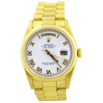 Rolex Day-Date 36 Yellow gold 36mm White Roman numerals United States of America, California, Fullerton