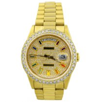 Rolex Day-Date 36 Yellow gold 36mm Gold No numerals United States of America, California, Fullerton