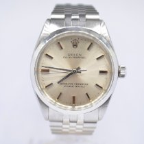 Rolex 1002 Steel 1980 Oyster Perpetual 34 34mm pre-owned United Kingdom, London Colney Hertfordshire