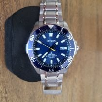 Citizen Titanium Quartz Blue No numerals 44mm pre-owned Promaster
