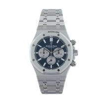 Audemars Piguet Royal Oak Chronograph Acero 41mm Azul Sin cifras