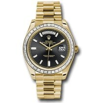 Rolex Day-Date 40 Yellow gold 40mm Black Roman numerals United States of America, Florida, Miami