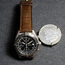 Breitling Chronomat Acciaio 40mm Nero Senza numeri Italia, Bologna