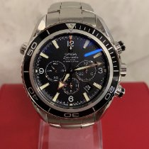 Omega Seamaster Planet Ocean Chronograph Steel 45.5mm Black Arabic numerals United Kingdom, Kings Langley