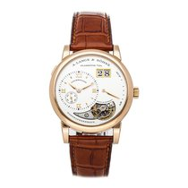 A. Lange & Söhne Lange 1 Rose gold 38.5mm Silver Roman numerals United States of America, Pennsylvania, Bala Cynwyd