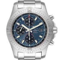 Breitling Colt Chronograph Automatic pre-owned 44mm Blue Chronograph Date Steel