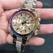 Rolex Daytona Rose gold 40mm No numerals