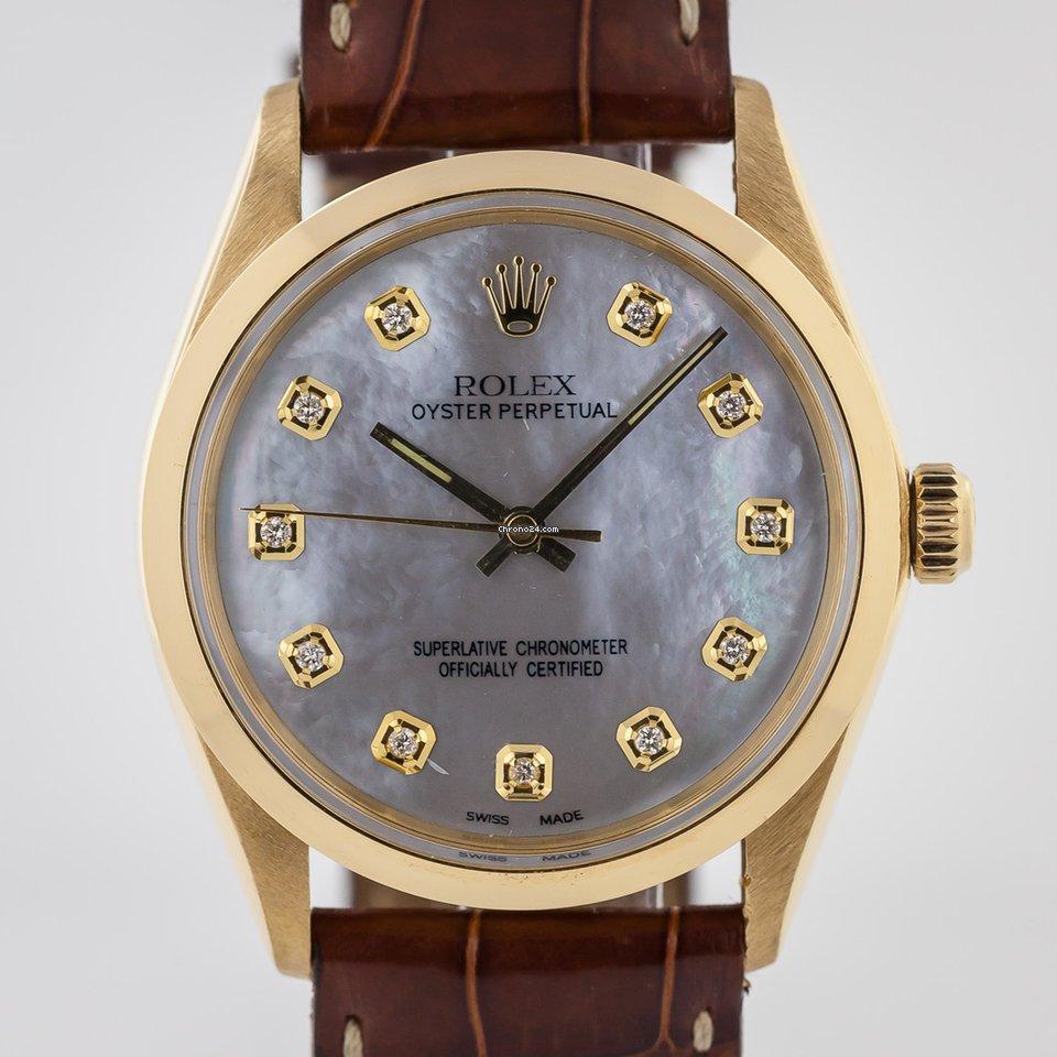 Rolex Oyster Perpetual 34 1002 1966 подержанные